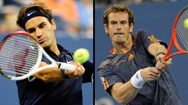 Murray, Federer in action on Monday