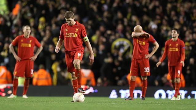 Europa League - Liverpool hopes in balance after Young Boys hit back