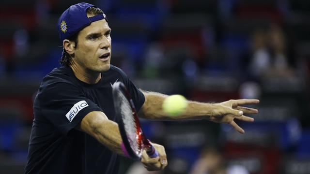 Tennis - Haas shows no signs of slowing down as he trumps Haase