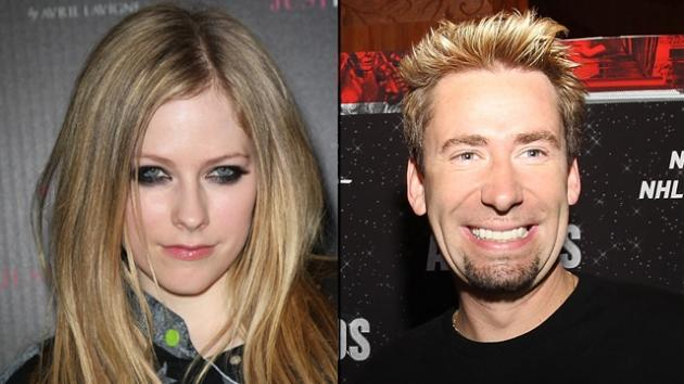 Avril Lavigne, Chad Kroeger -- Getty Images