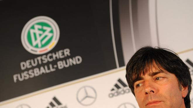 Coach Of Germany National Football Team Joachim Loew Looks AFP/Getty Images