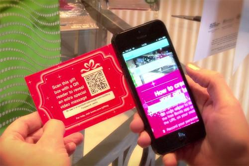 Boots Christmas app adds video messages to gift tags. Apps, Boots, Christmas 0