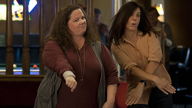 Melissa McCarthy and Sandra Bullock in 'The Heat'
