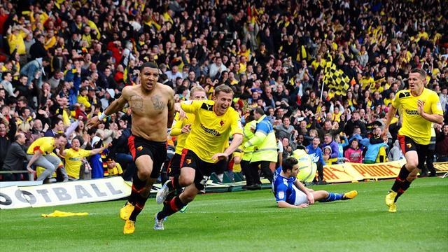 Championship - Deeney seals Watford final play-off place after thrilling finish