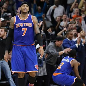 Report: Preliminary discussions centered around Kevin Love deal involved Carmelo Anthony