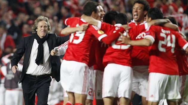 Benfica celebrate a win (Reuters)