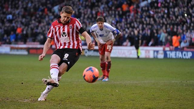 Football - Blades set up possible Steel City derby