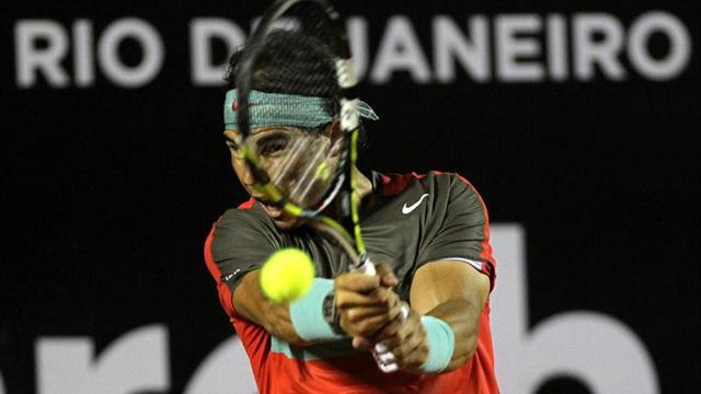 Tennis - Nadal blasts through to Rio quarters