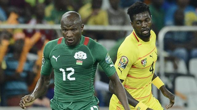 African Cup of Nations - Pitroipa puts Burkina Faso in semis, Togo out