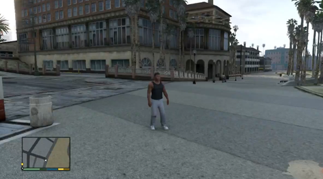A scene from Grand Theft Auto 5.