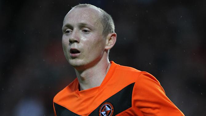 Willo Flood was on target for Dundee United against Dinamo Moscow