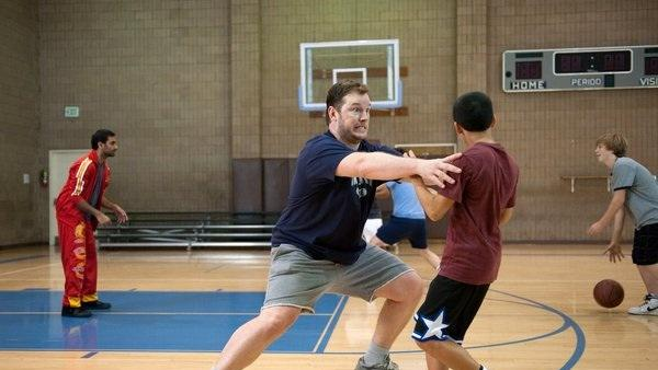Exclusive Parks and Rec Deleted Scene: Andy's Basketball Lesson Takes an Unexpected Turn