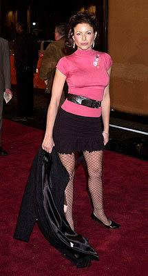 Premiere: Kari Wuhrer at the Hollywood premiere of Warner Brothers' The Majestic - 12/11/2001