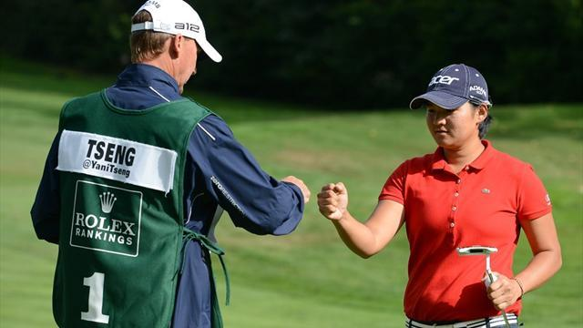 Tseng takes lead at Canadian Open