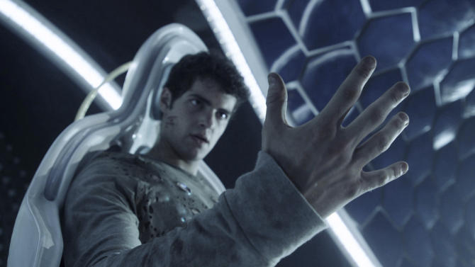 "This image released by Open Road Films shows Ben Winchell in a scene from ""Max Steel."" (Open Road Films via AP)"