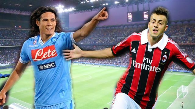 Serie A - Transfer round-up: Napoli eye El Shaarawy as Cavani replacement