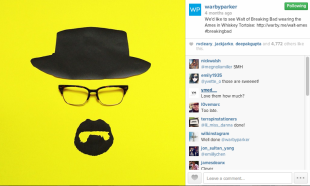 "7 Real Time Marketing Examples Brands Can Emulate During the ""Big Game"" image Warby Parker IG"
