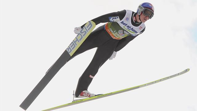 Ski Jumping - Schlierenzauer win sets up Four Hills finale