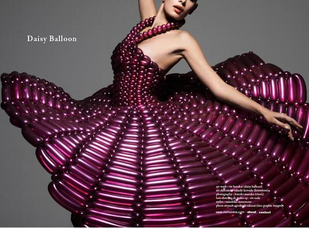 We can't believe this dress is inflatable