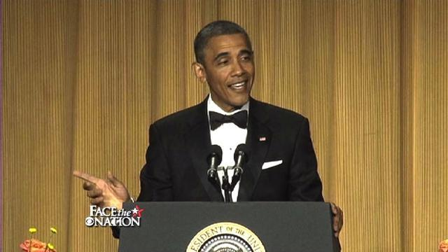 Obama earns big laughs at White House Correspondents' Dinner