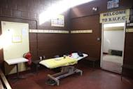 Britain Football Soccer - Sutton United Media Day - FA Cup Fifth Round Preview - The Borough Sports Ground - 16/2/17 General view of away dressing room during the media day Action Images via Reuters / Matthew Childs Livepic