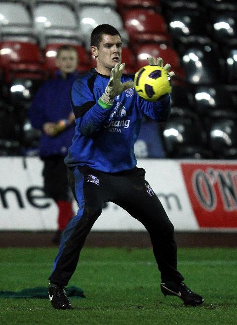 Connor Roberts impressed in a trial after being released by Everton