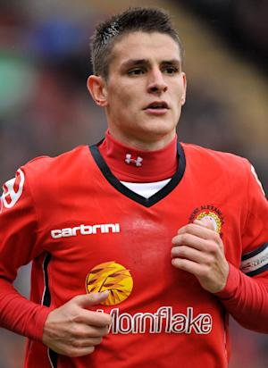 Ashley Westwood has been named the new club captain at Crewe