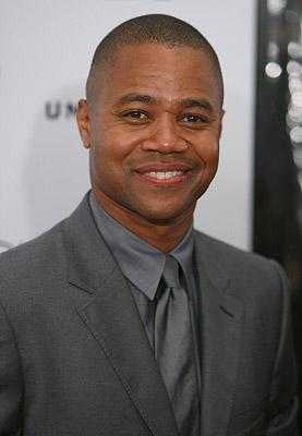 Cuba Gooding Jr at the New York City premiere of Universal Pictures' American Gangster
