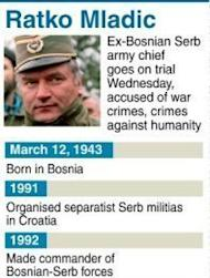 "The war crimes trial of former Bosnian Serb army chief Ratko Mladic has been abruptly halted, just a day after it opened, because of prosecution ""irregularities"" in the high-profile case"