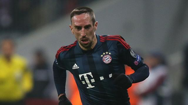 Football - Ribery regret at missing out