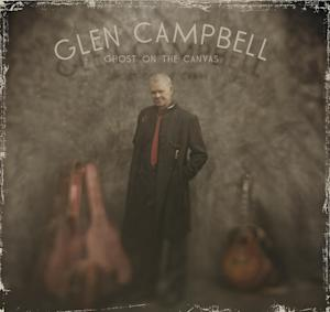 "In this CD cover image released by Surfdog Records, the latest release by Glen Campbell, ""Ghost on the Canvas,"" is shown. (AP Photo/Surfdog Records)"
