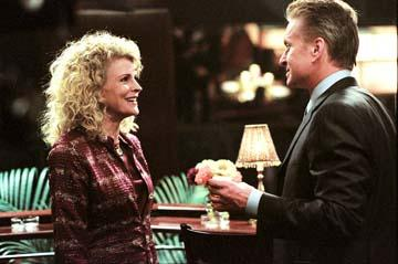 Candice Bergen and Michael Douglas in Warner Bros. The In-Laws