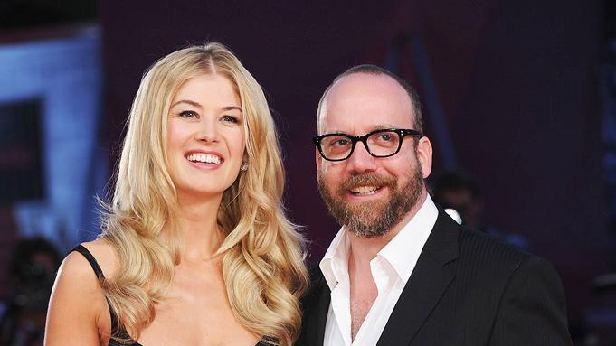 67th Annual Venice Film Festival 2010 Rosamund Pike Paul Giamatti