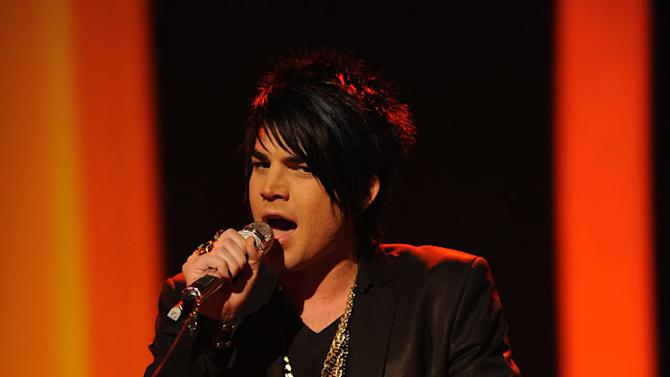 "Adam Lambert performs ""(I Can't Get No) Satisfaction"" by The Rolling Stones on ""American Idol."""