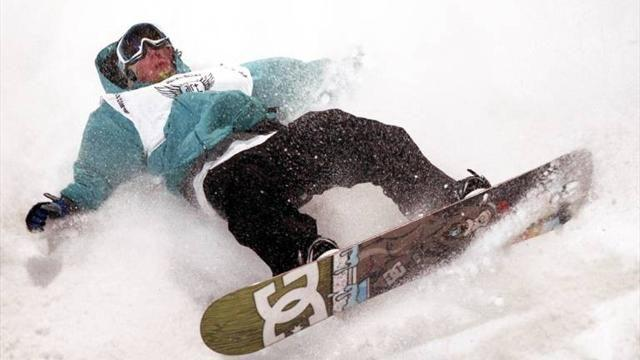 Snowboard - Medal hope Horgmo breaks collarbone, out of Sochi