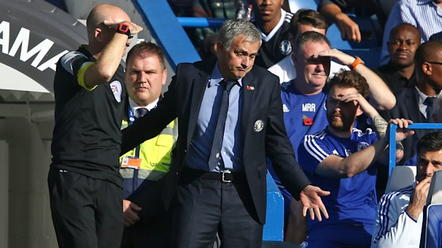 Jose Mourinho cited a lack of respect for his Chelsea players after claiming their defeat to Liverpool was not under their control.