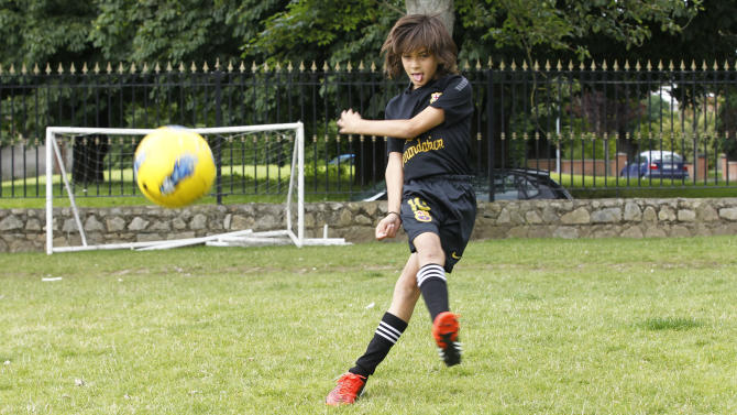 Nine-year-old 'Irish Messi' signs for Barcelona