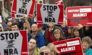 Newtown Shootings: Protesters March On NRA HQ