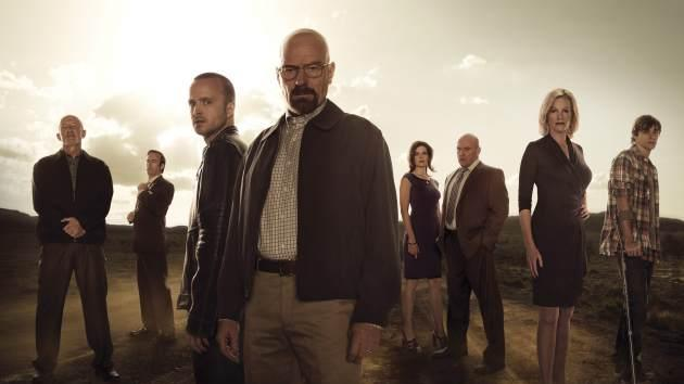 The cast of AMC's 'Breaking Bad' -- AMC