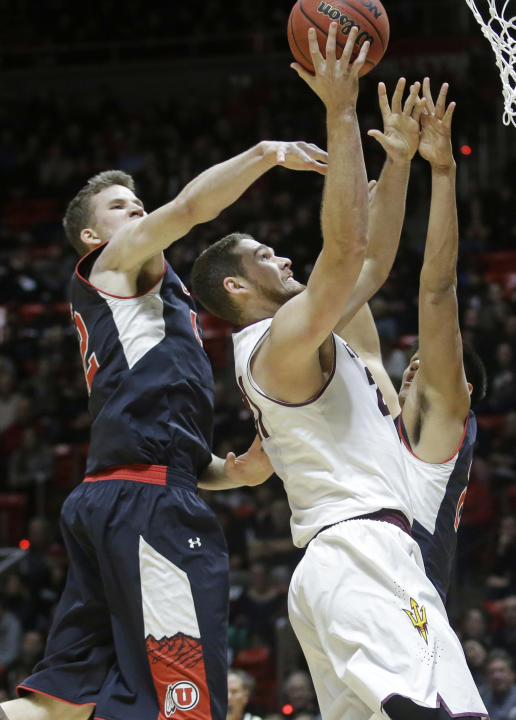 No. 13 Utah routs Arizona St 83-41 with dominant first half