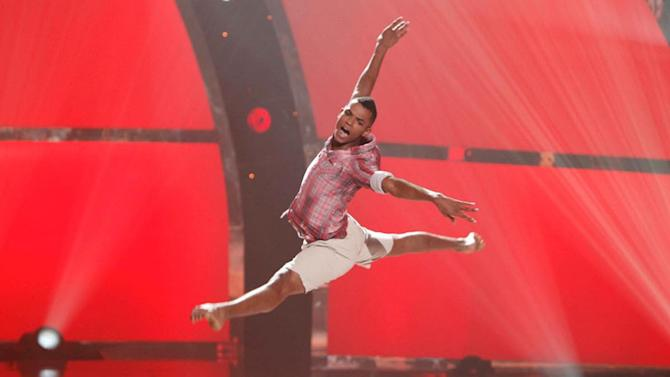 "Contestant Ricky Jaime performs a solo routine to ""Daylight Breaks"" on ""So You Think You Can Dance."""