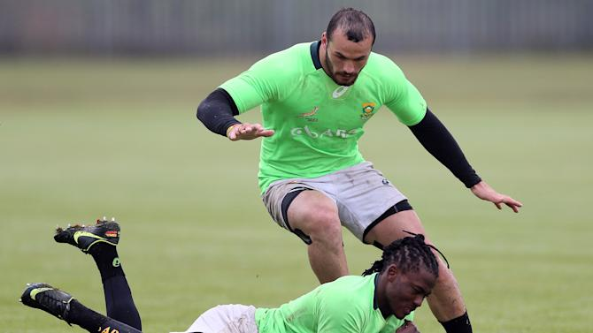 South Africa 7s Training Session