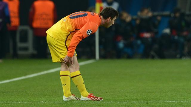 Liga - Barcelona contemplate life without Messi