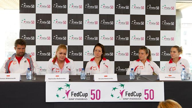 TENNIS-BEL-POL-FED-CUP