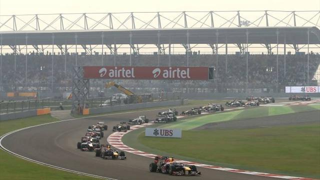 Indian Grand Prix - The race: LIVE!