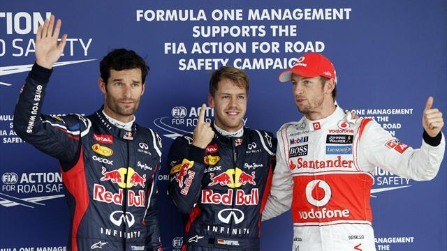 Formula 1 - Vettel stays on pole despite impeding Alonso in Japan
