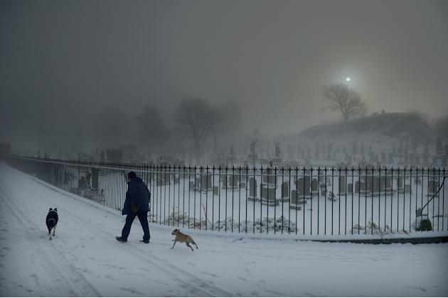 UK Set For Continued Cold Snap As Snow Arrives