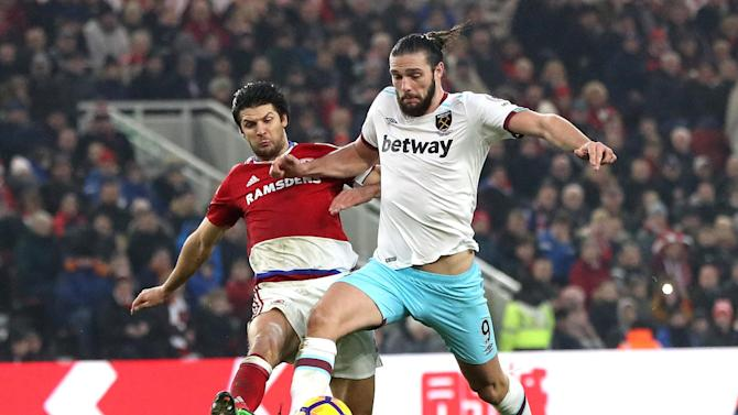 Andy Carroll targeting England return after good spell of form for West Ham
