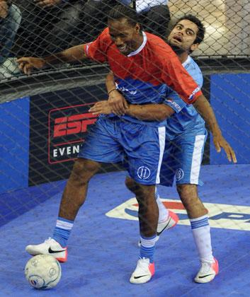 Didier Drogba in India