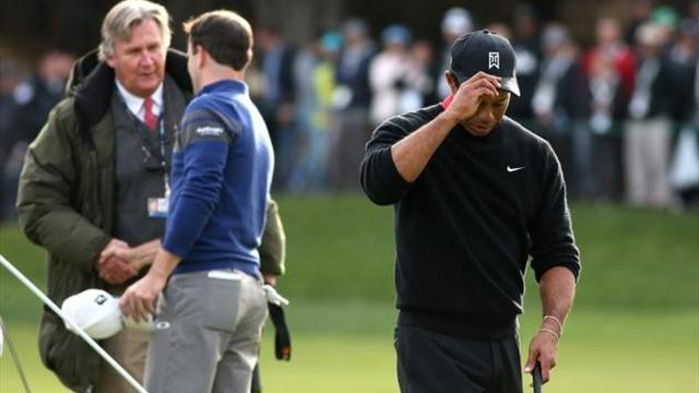 Golf - Woods finds good and bad in Sherwood farewell